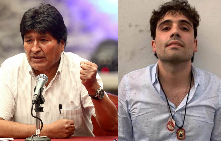 Un ministro de Bolivia afirma que Evo Morales alojó al hijo de 'El Chapo' Guzmán y le dio credenciales de la Asamblea Nacional