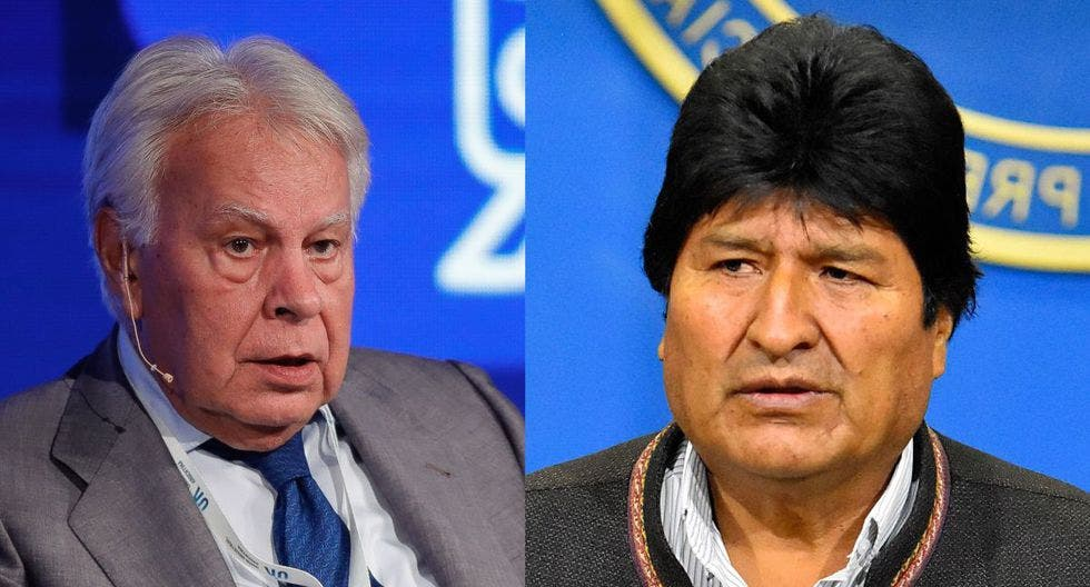 """Felipe González: """"A Evo Morales nadie le ha dicho que el cementerio está lleno de gente que se creía imprescindible"""""""