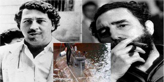 Historia narcocomunista: Pablo Escobar intentó conseguir con su amigo Fidel Castro un submarino como el interceptado en Galicia