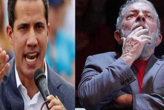 """""""Tu eres un ladrón y estás condenado"""": Juan Guaidó 'arrastró' a Lula Da Silva por tildarlo de golpista y defender a Maduro"""