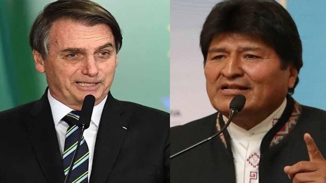 """Bolsonaro habló de Bolivia y desnudó la hipocresía de la izquierda latinoamericana: """"Siempre que pierden es por un golpe"""""""