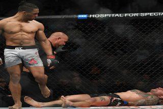 Vídeo: Ésta patada a la mandíbula podría ser el nocáut más brutal de la UFC en 2019
