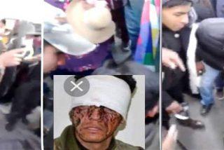 Bolivia: El video que muestra a los jefes de la turba interrogando al policía antes de matarlo a golpe