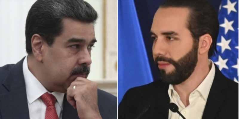 """El zasca del presidente de El Salvador al sátrapa Nicolás Maduro: """"Respete, habla de un presidente electo democraticamente"""""""