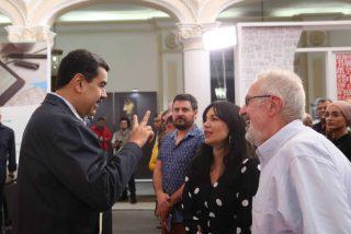 La chavista catalana Arantxa Tirado llega a una Venezuela en hambruna con un mensaje para Maduro: