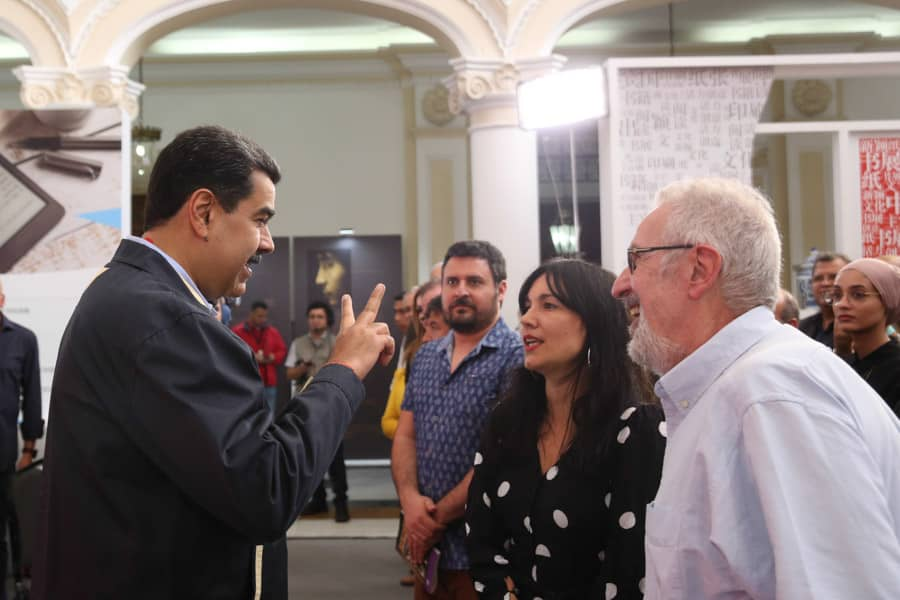"""La chavista catalana Arantxa Tirado llega a una Venezuela en hambruna con un mensaje para Maduro: """"vengo a por más millones"""""""