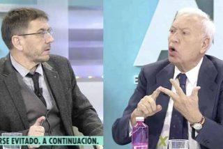 """Ana Rosa y Margallo callan la boca al manipulador 'ministro de Exteriores' podemita, exaltado con el """"golpe de Estado en Bolivia"""""""