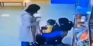 ¿Violencia de género?: Un padre le da una paliza a la maestra que le pegaba a su hija