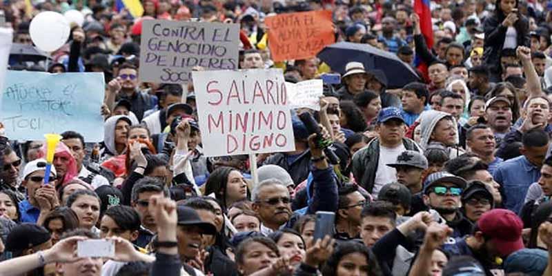 """Protestas en Colombia: Los 4 motivos detrás de la llegada de """"la brisita bolivariana"""" y del 'Foro de Sao Paulo' contra el presidente Duque"""