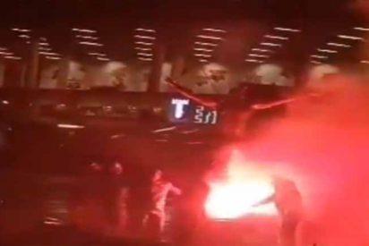 """""""Judas, muere, gitano"""": La furia de los hinchas del Malmo, destrozan la casa de Ibrahimovic y queman su estatua"""