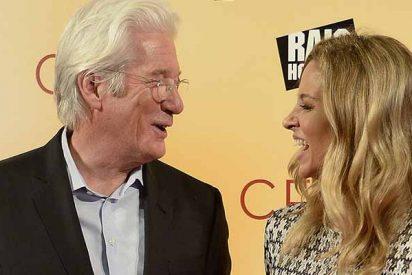 El abuelito no se cansa: Richard Gere será padre nuevamente
