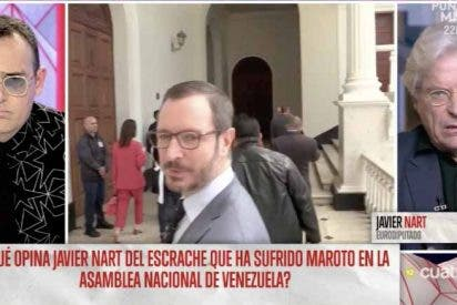 El separatismo de Risto Mejide lo pone del lado del chavismo criminal que grita