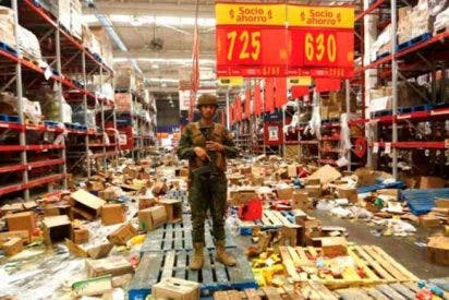 """""""Narcosaqueos"""" en Chile: Detienen a un clan familiar por los robos a comercios en las protestas"""