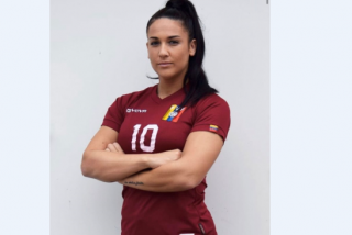 Así luce Sonia O'neill, la nueva jugadora sexy de 'la Vinotinto'