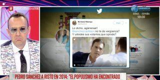Risto Mejide minimiza que Pedro Sánchez le mintiera a la cara al negar un pacto con Podemos y transforma su frustración en un infantil ataque a Vox