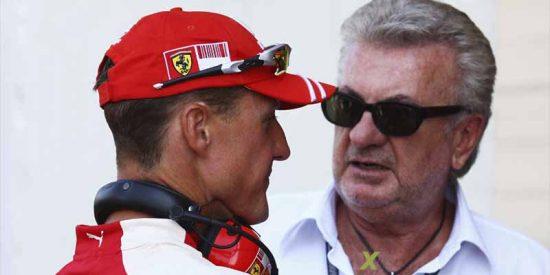 """Exagente de Schumacher carga contra la esposa del expiloto: """"Quizás tiene miedo de que vea lo que está pasando y haga pública la verdad"""""""