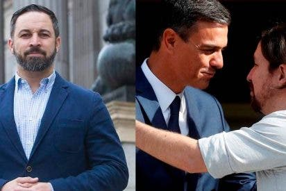 Abascal sospecha que la fuga del 'narcogeneral' chavista de España fue el 'regalo de bodas' de Sánchez a Iglesias