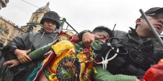 """La amenaza del ministro de Defensa del fraudulento Evo Morales: """"Estamos a un paso de contar los muertos por docenas"""""""