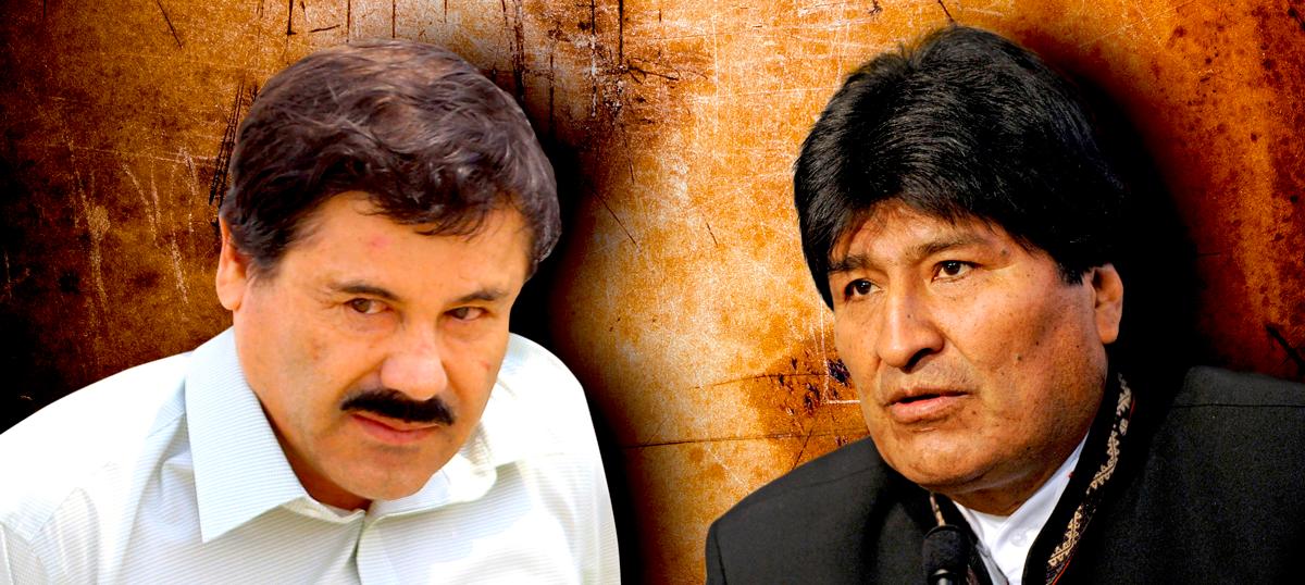 """""""Evo Morales era el jefe de un cartel de narcotráfico que le vendía coca al 'Chapo' Guzmán"""""""