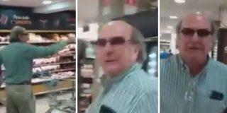 """El vídeo del xenófobo chileno que lanza un ataque racista contra los venezolanos en un supermercado: """"Están llevando este país a la ruina"""""""