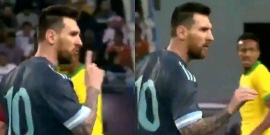 Messi manda a callar al Tite en pleno clásico y reaviva la tensión entre Argentina y Brasil