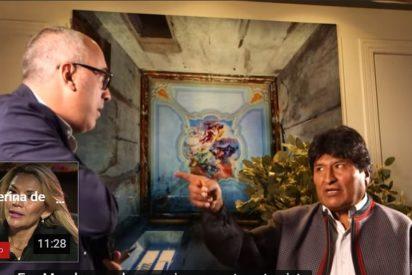 """Evo Morales estalla contra el periodista que le pregunta a la cara por el fraude electoral y fuga de Bolivia: """"¿qué errores he cometido?, ¿quiere verme muerto?"""""""
