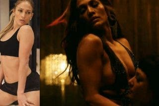 Polémica: Salen a la luz unas inéditas fotos lésbicas de Jennifer López