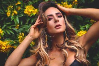 Foto: La sensual actriz Johanna Fadul se desnuda para solicitar justicia al gobierno de Iván Duque