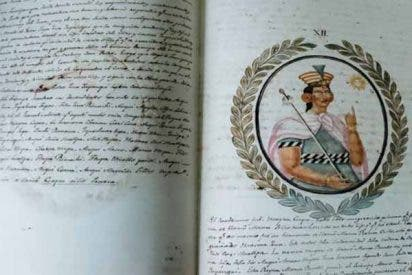 Después de estar perdido por más de un siglo, aparece el extraordinario Manuscrito de Sahuaraura