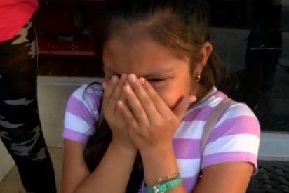 La niña migrante que se enfrentó al ICE de Donald Trump logra abrazar a su padre: Pagan una fianza de 7.500 dólares