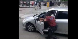 Argentina: Un conductor atropella a un policía para darse a la fuga