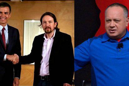 ¡Qué casualidad! Diosdado Cabello cesa repentinamente sus ataques contra España tras el pacto PSOE-Podemos