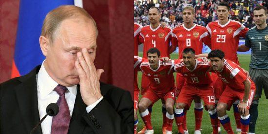 Adidas provoca la ira de Putin: Coloca la bandera de Rusia 'de cabeza' en la nueva camiseta de la selección de fútbol