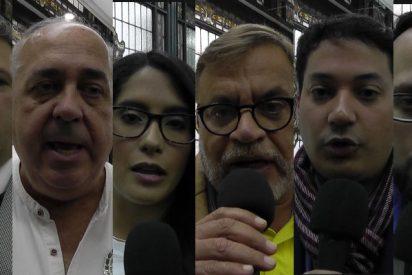 Reportaje de PD: Delegación de Juan Guaidó confía que el PSOE será el 'dique' para contener a Pablo Iglesias,