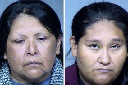 Detienen a una madre y su hija por retener a tres inocentes niños entre heces fecales