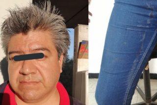Un pervertido eyacula en la pierna de una mujer de 19 años en Metro de México