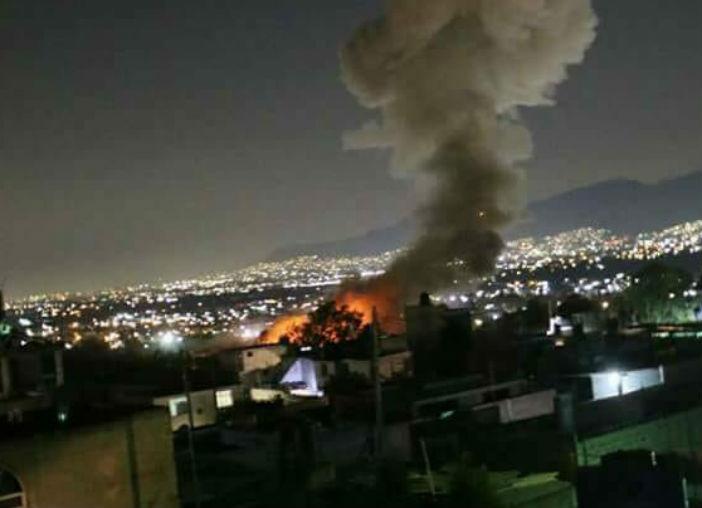 México: Una gran explosión de pirotecnia deja al menos ocho heridos