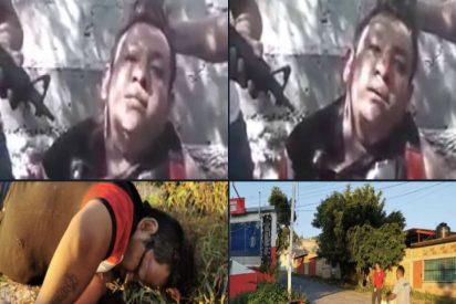 Así interrogan y ejecutan a un narco mexicano capturado por otro cartel