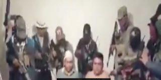Vídeo: Narcos secuestran, interrogan y decapitan a un integrante de una banda enemiga