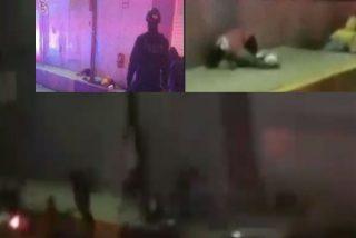 Imágenes fuertes: Difunden el vídeo de un sicario disparando a quemarropa contra una mamá y sus hijos