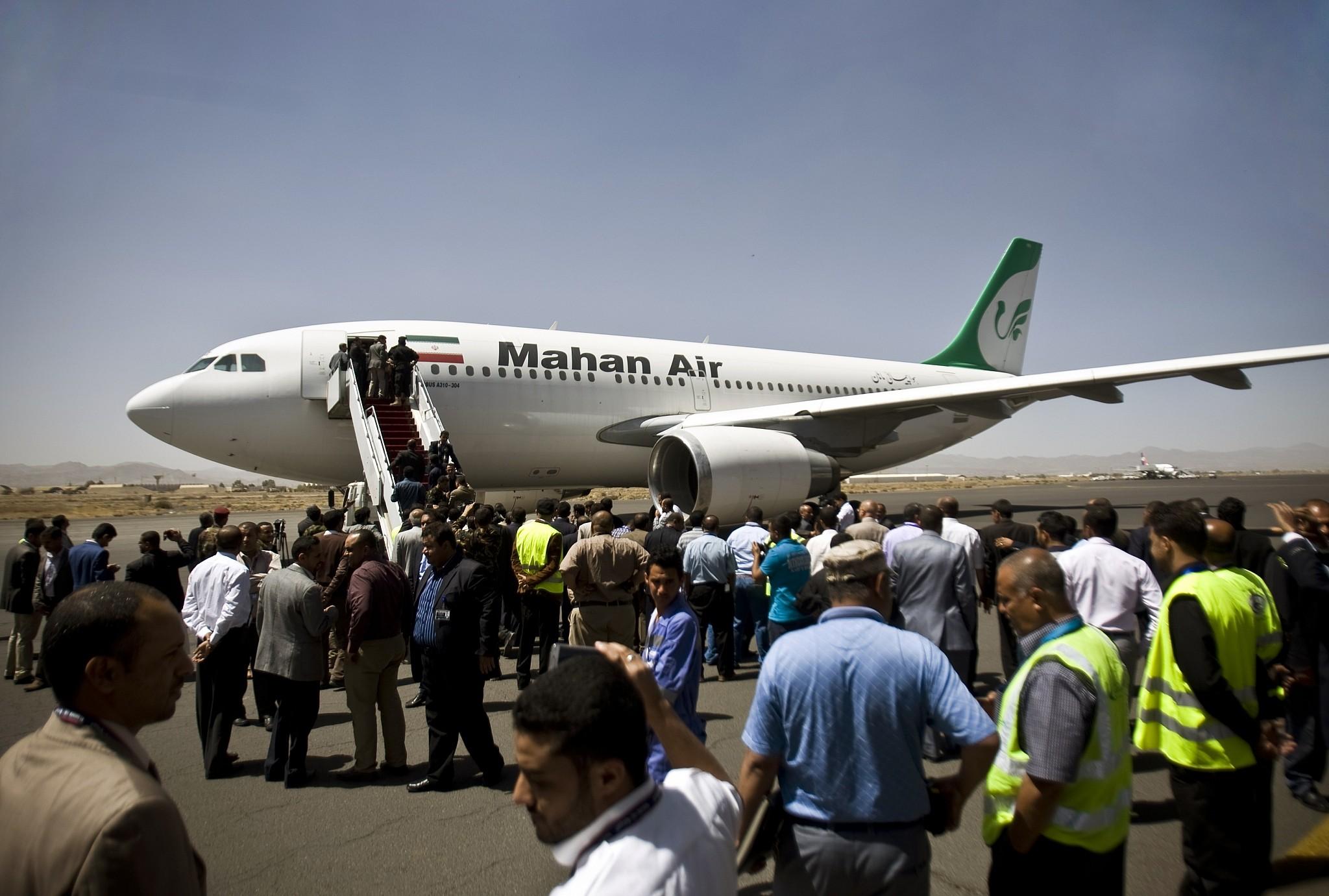EEUU sanciona a las compañías de Irán 'top' en transporte aéreo y marítimo por transportar armas a grupos terroristas