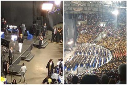 Venezolanos humillan a un cantante chavista en pleno concierto: