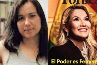 La 'Pablo Iglesias del chavismo' carga contra Forbes y las feministas 'no comunistas' por reconocer a Jeanine Áñez
