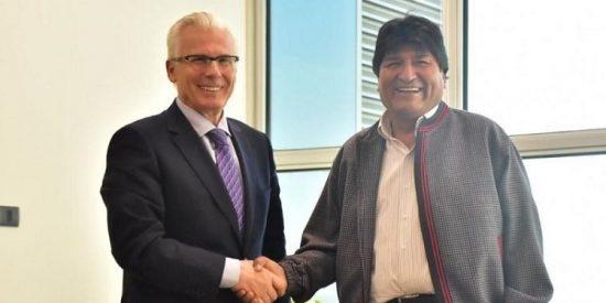 Baltasar Garzón empieza su paupérrima defensa a Evo Morales atacando a la OEA