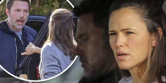 ¡Qué bochorno!: La pelea de Ben Affleck y Jennifer Garner en plena calle