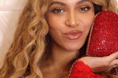 Las enormes caderas de Beyonce quedaron al aire y no fue un accidente