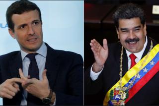 El vídeo del desliz: Maduro confunde a Pablo Casado con uno de los esbirros españoles del chavismo