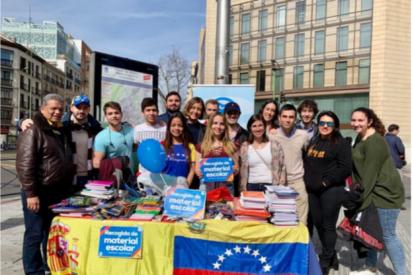 El PP envía útiles escolares a Venezuela para el regreso a clases