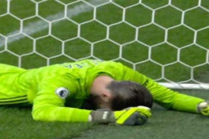 El error garrafal de David De Gea que causó la derrota del Manchester United y el huracán de memes