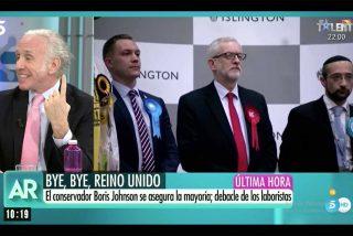 El arte de Inda para retratar al comunista perdedor de las elecciones británicas y meter un zasca a los chavistas de Podemos sin nombrarlos